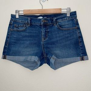 Old Navy Boyfriend Cuffed Jean Shorts